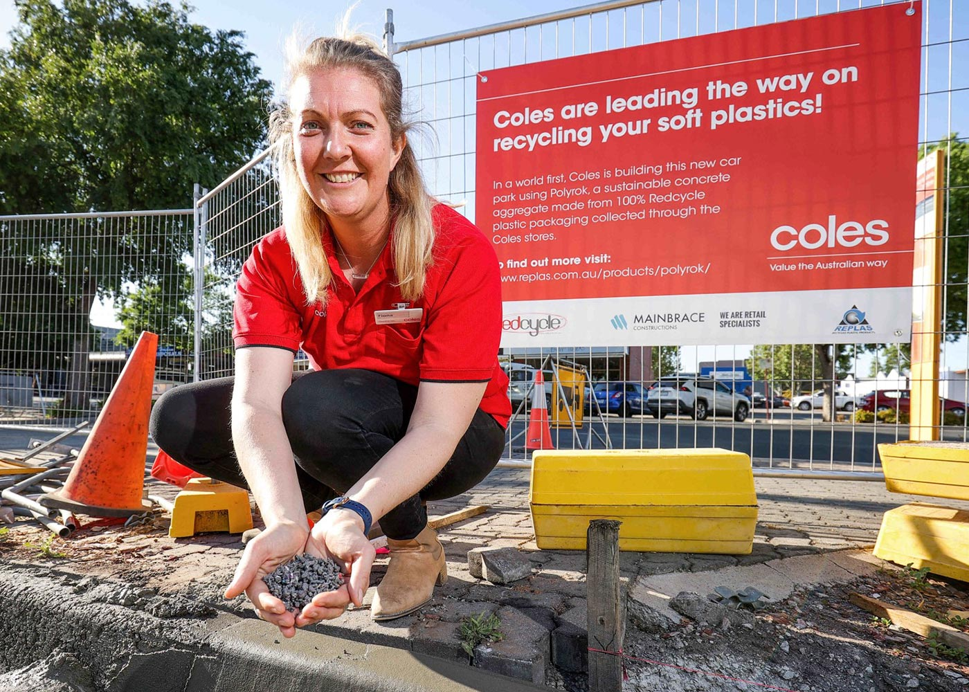 Coles State Construction Manager Victoria Fiona Lloyd